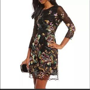 Belle Badgley Mischka sequin dress